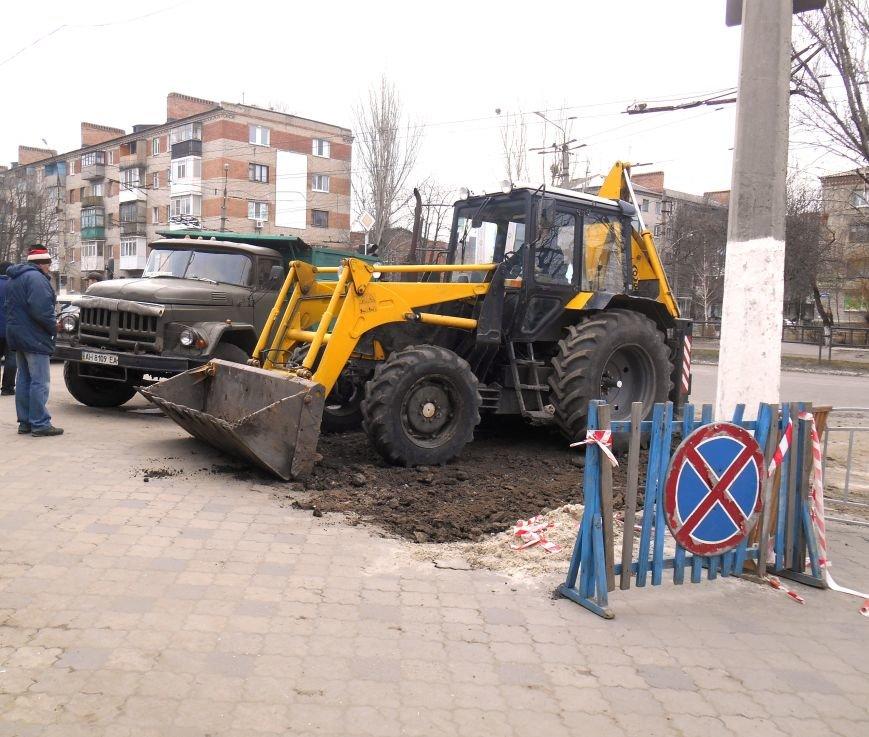 В Славянске ликвидируют последствия январского порыва на САТУ (фото) - фото 1