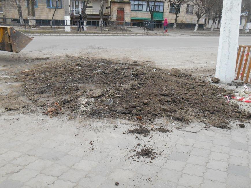 В Славянске ликвидируют последствия январского порыва на САТУ (фото) - фото 2