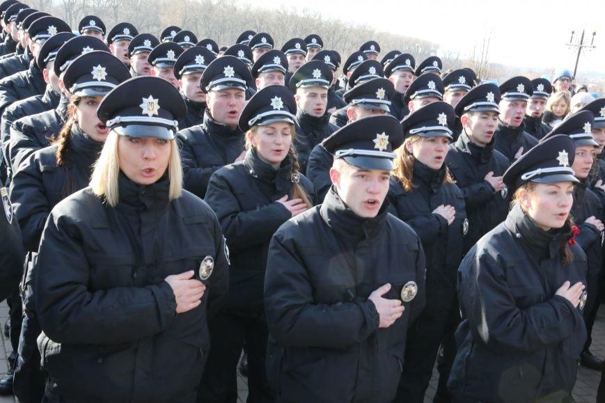 Черниговские патрульные полицейские приняли присягу, фото-4