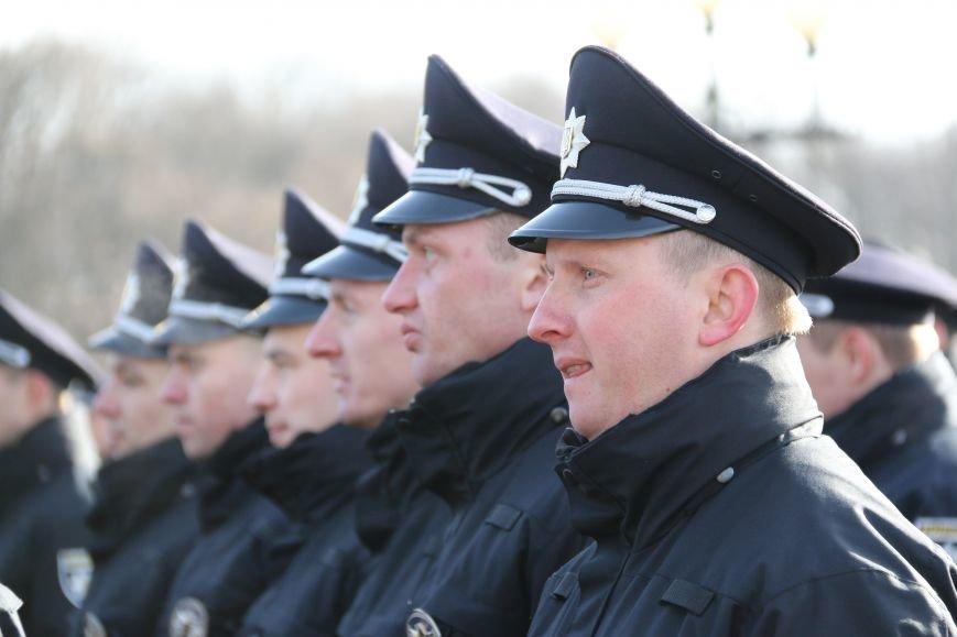 Черниговские патрульные полицейские приняли присягу, фото-1