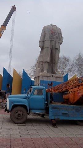 """В Луганском регионе еще один Ленин """"совершил самоубийство"""" (ФОТО), фото-2"""