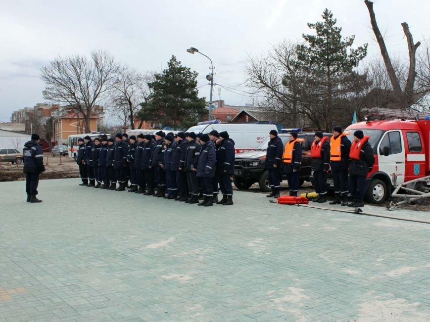 Вчора хмельницькі рятувальники тренувались в умовах льодоходу та паводку (Фото), фото-2