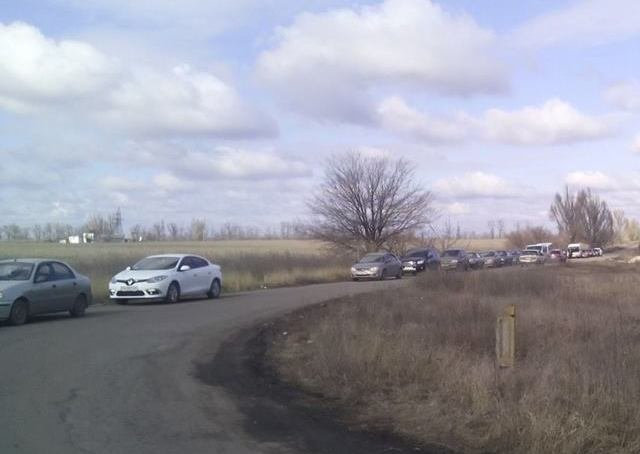 КПВВ «Зайцево» открыт, скопления автомобилей нет, фото-1