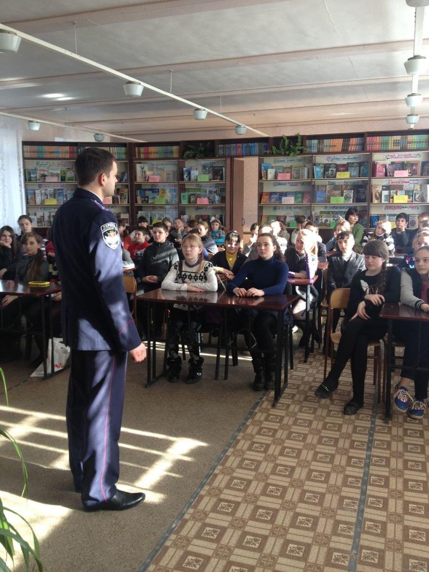 Будущие полицейские Бахмута подают пример сверстникам, фото-2