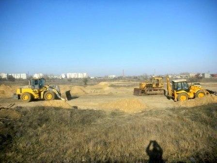 В Цюрупинске готовят трассу к чемпионату по мотокроссу (фото) (фото) - фото 3