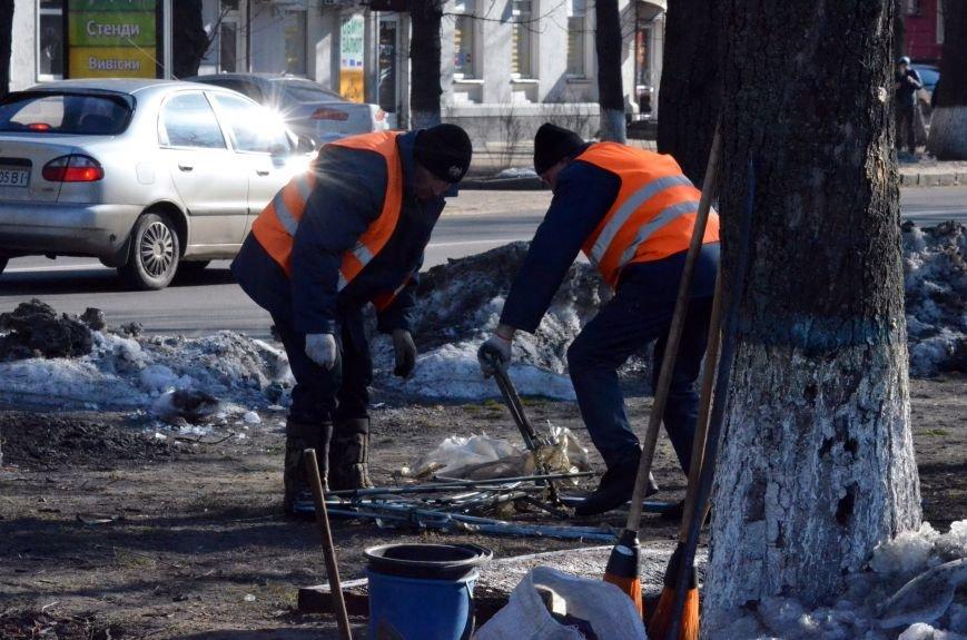 У Полтаві на площі перед ОДА демонтували наметове містечко (ФОТО, ВІДЕО), фото-1