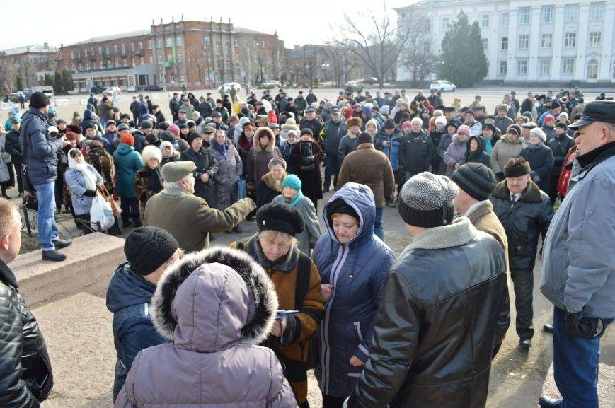 В Северодонецке митинговали «за Казакова» (ФОТО), фото-5