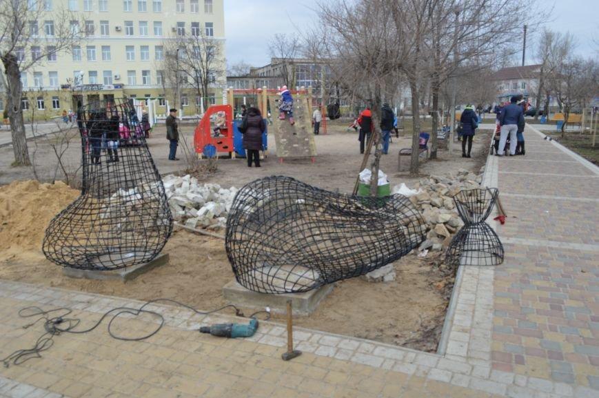 В Северодонецке установили кованые фигуры по мотивам произведения Гоголя (ФОТО), фото-4