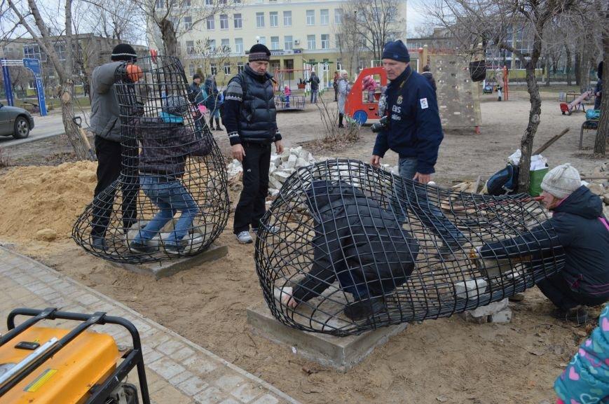 В Северодонецке установили кованые фигуры по мотивам произведения Гоголя (ФОТО), фото-5