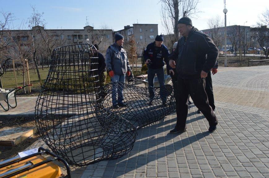 В Северодонецке установили кованые фигуры по мотивам произведения Гоголя (ФОТО), фото-2