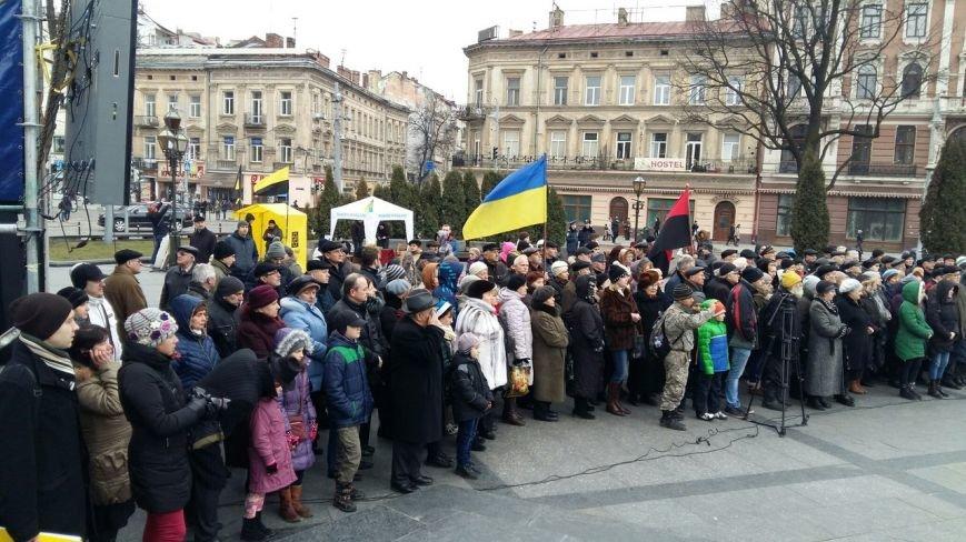 Ми пам'ятаємо: у центрі Львова вшанували пам'ять Героїв Небесної Сотні (ФОТО) (фото) - фото 1