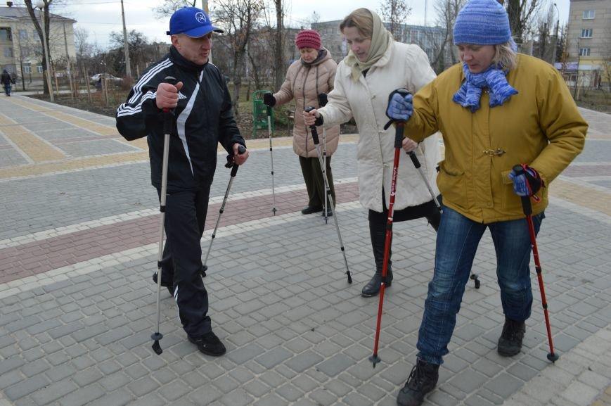 В Северодонецке учили скандинавской ходьбе (ФОТО), фото-1