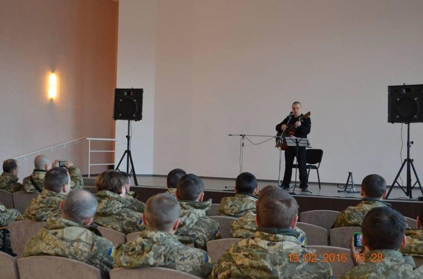 В Северодонецке выступил бард-патриот (ФОТО), фото-1