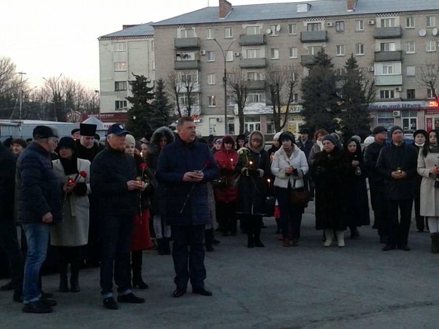 Павлоградцы почтили память Героев Небесной Сотни, фото-2