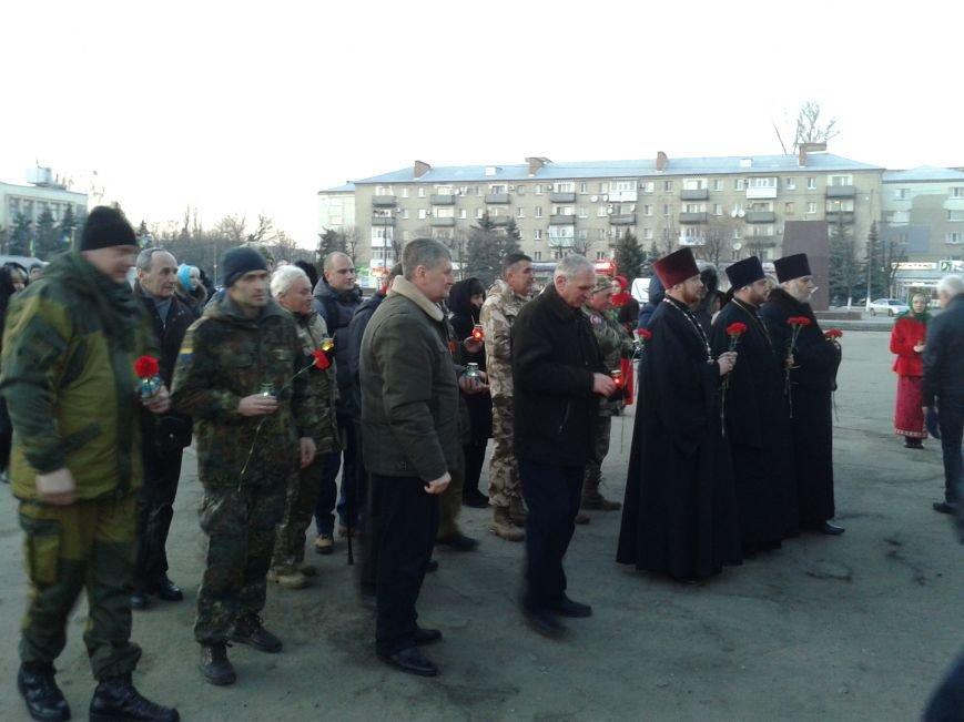 Павлоградцы почтили память Героев Небесной Сотни, фото-7