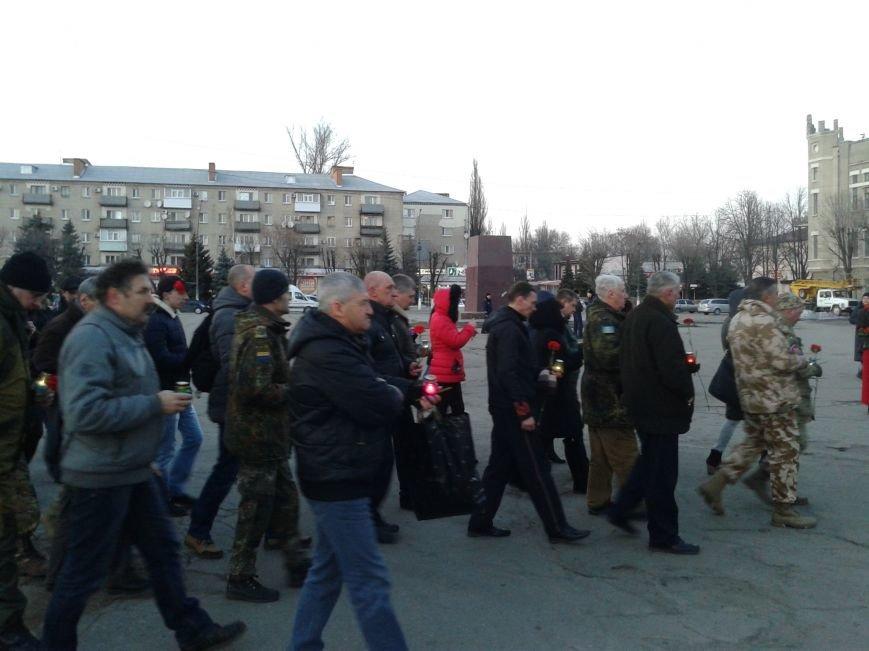 Павлоградцы почтили память Героев Небесной Сотни, фото-5