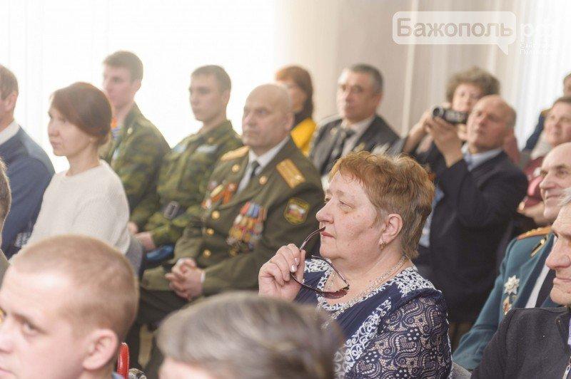 Торжественный прием в честь Дня защитника Отечества в администрации Полевского (фото) (фото) - фото 1