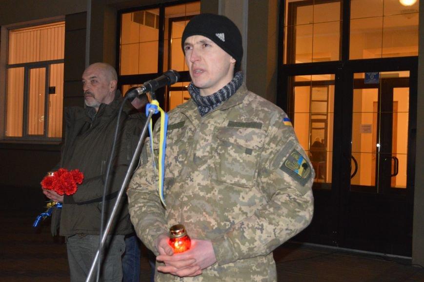 В Северодонецке состоялся митинг-реквием по случаю годовщины расстрела Небесной Сотни (ФОТО), фото-4