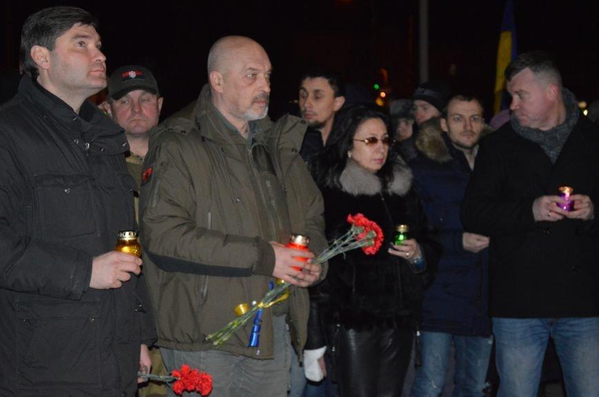 В Северодонецке состоялся митинг-реквием по случаю годовщины расстрела Небесной Сотни (ФОТО), фото-3
