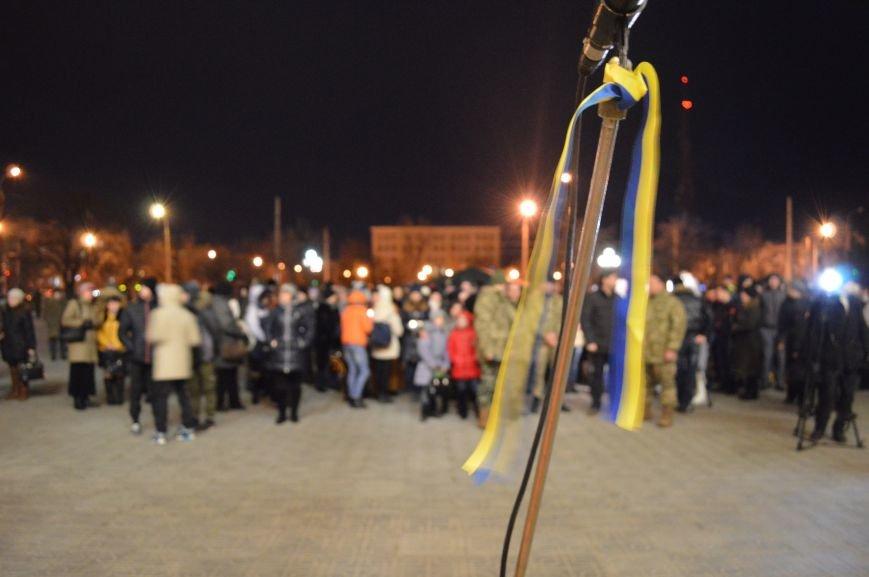 В Северодонецке состоялся митинг-реквием по случаю годовщины расстрела Небесной Сотни (ФОТО), фото-2