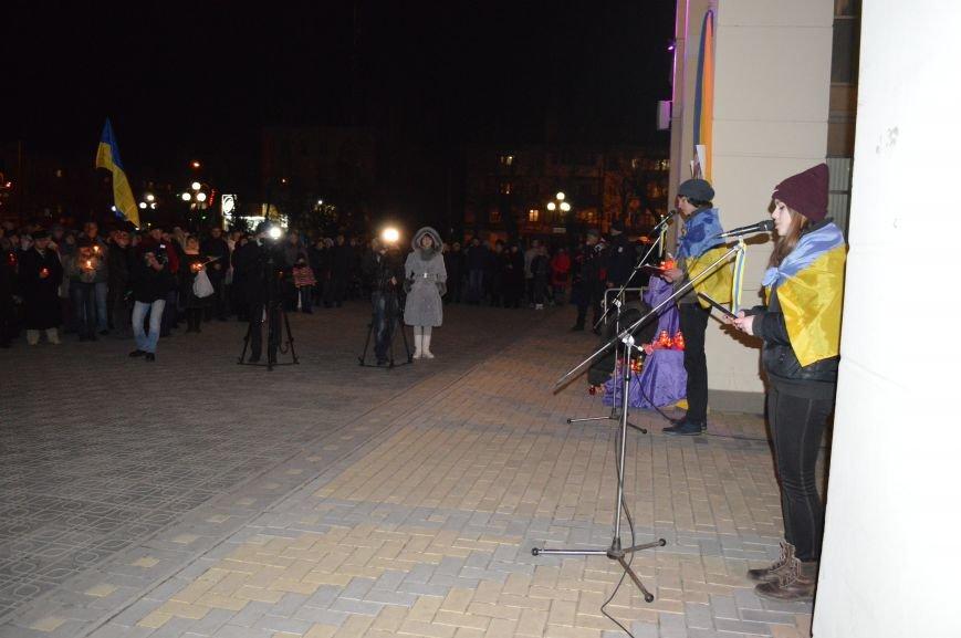 В Северодонецке состоялся митинг-реквием по случаю годовщины расстрела Небесной Сотни (ФОТО), фото-7