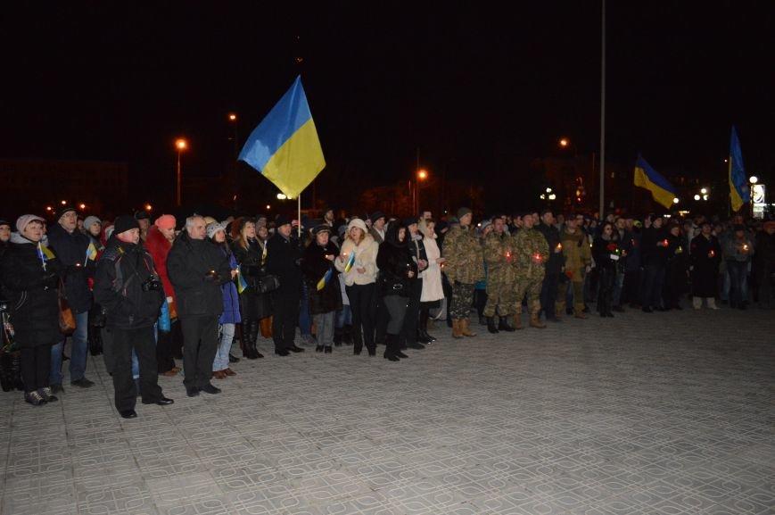 В Северодонецке состоялся митинг-реквием по случаю годовщины расстрела Небесной Сотни (ФОТО), фото-5