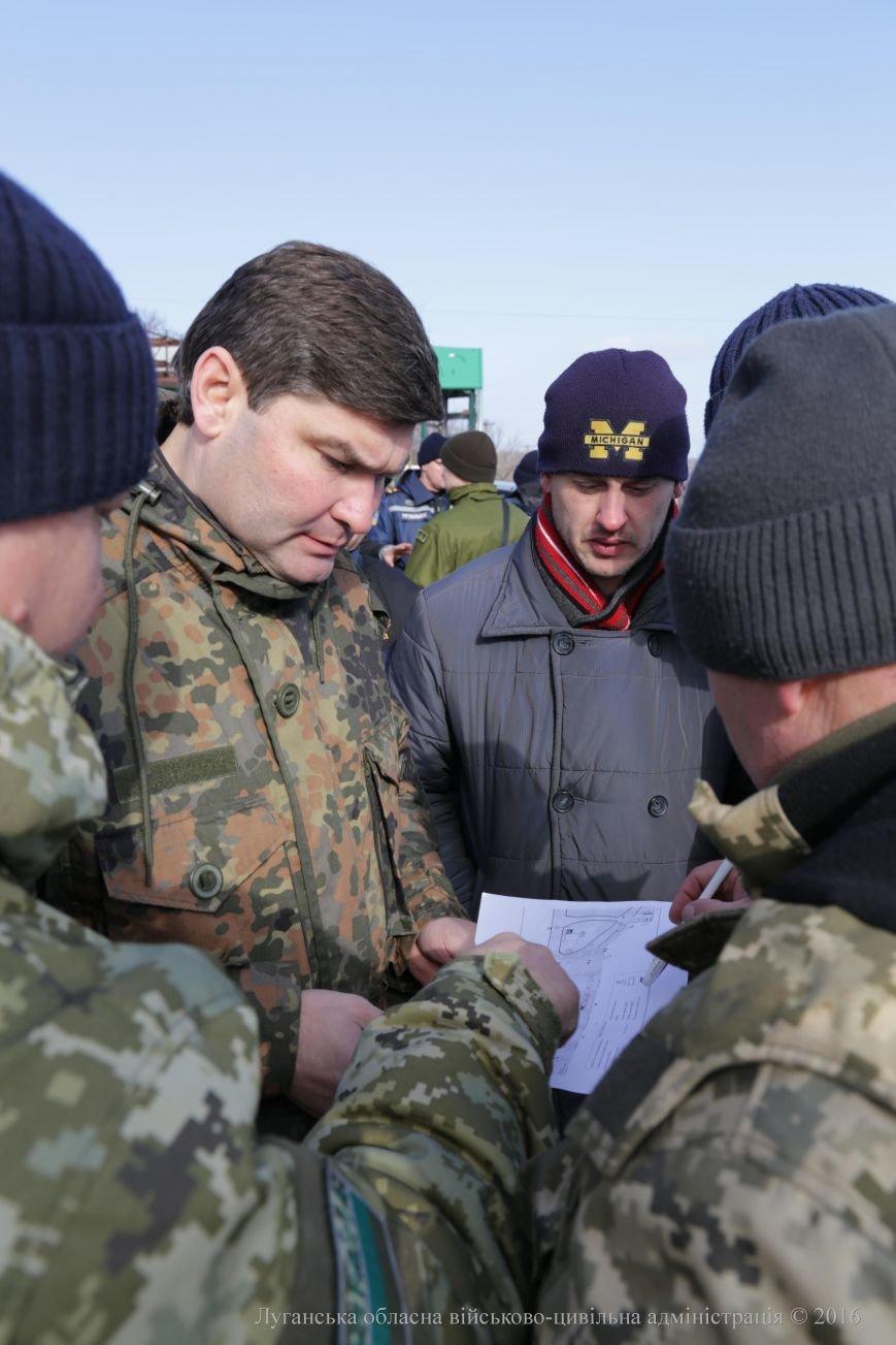 В Луганском регионе продолжают обустраивать новый пропускной пункт (ФОТО) (фото) - фото 2