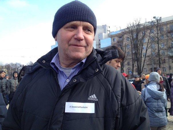 В Киеве проходит акция в защиту патрульной полиции (добавлено ФОТО) (фото) - фото 1