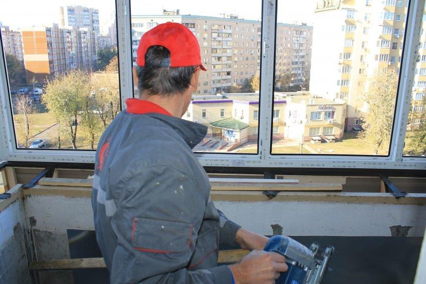 Остекление балкона: консультации мастеров СК Комфорт, фото-4