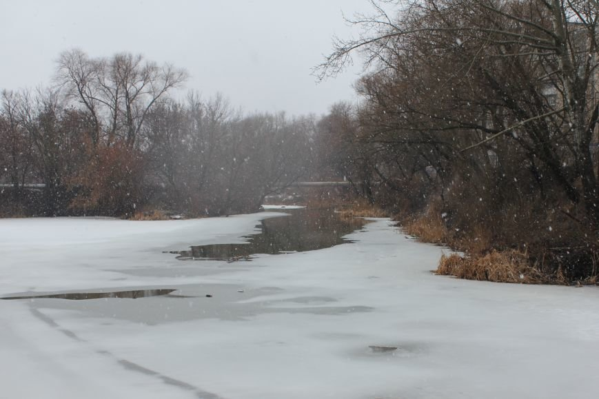 Из-за оттепели на реках Белгородской области тронулся лёд (фото) - фото 2