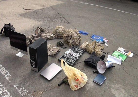 В Киеве полиция задержана подозреваемого в нападении на офис телеканала (ФОТО) (фото) - фото 1