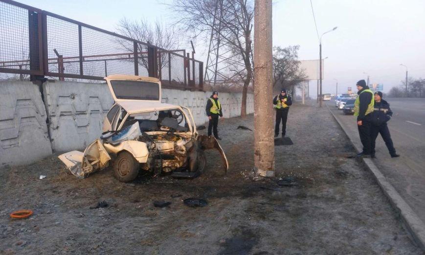 ДТП на Набережной: ЗАЗ превратился в груду металла (фото) - фото 2