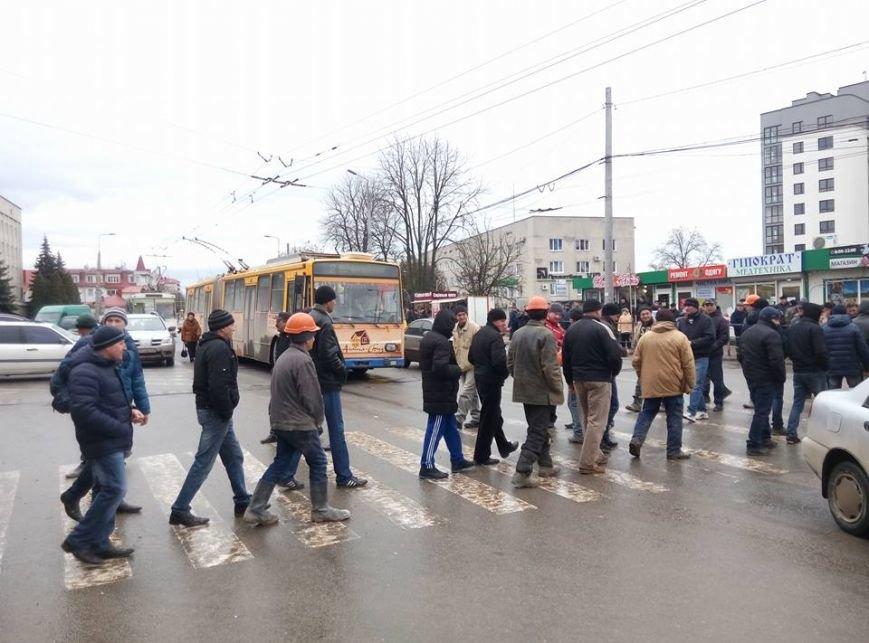 У Тернополі люди перекрили проспект Бандери (Фото), фото-1