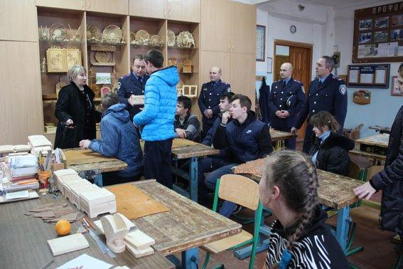Славянские правоохранители посетили детей школы-интерната (фото) - фото 6