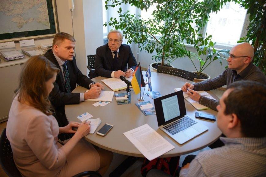Один из немецких политических фондов, работающих в Украине, поддержал инициативу мэра Кривого Рога Ю.Вилкула по внедрению в городе проектов открытости городской власти (фото) - фото 2
