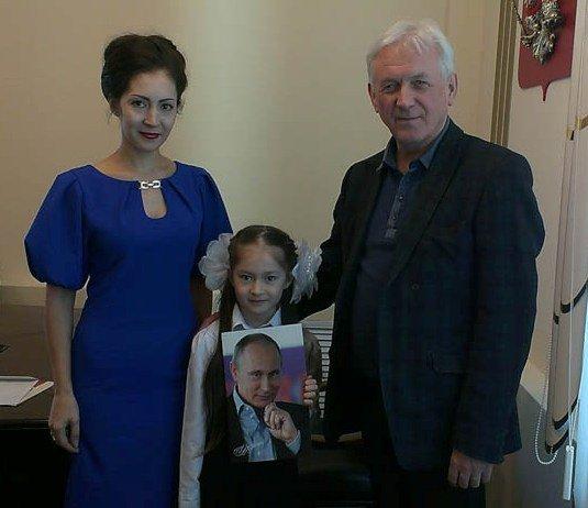 У юной патриотки и поклонницы Путина из Ульяновска сбылась мечта, фото-1