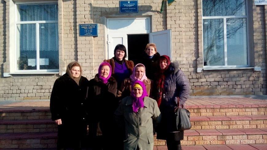 Фольклорный коллектив «Диво» в Добропольском районе (фото) - фото 1