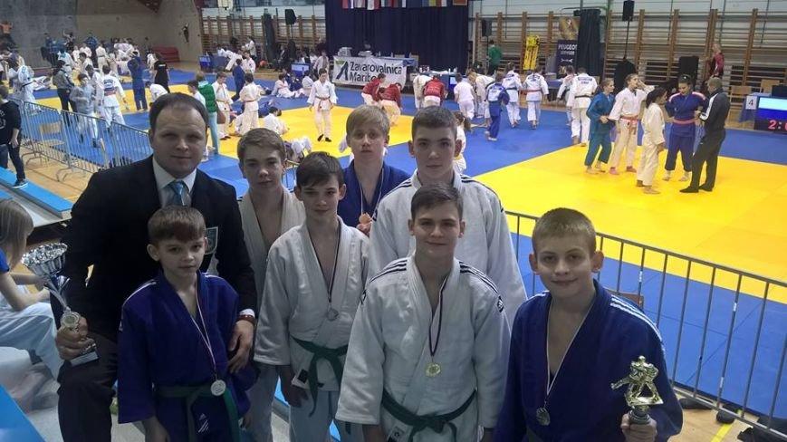 Славянские дзюдоисты приняли участие в Международном турнире в Словении (фото) - фото 1