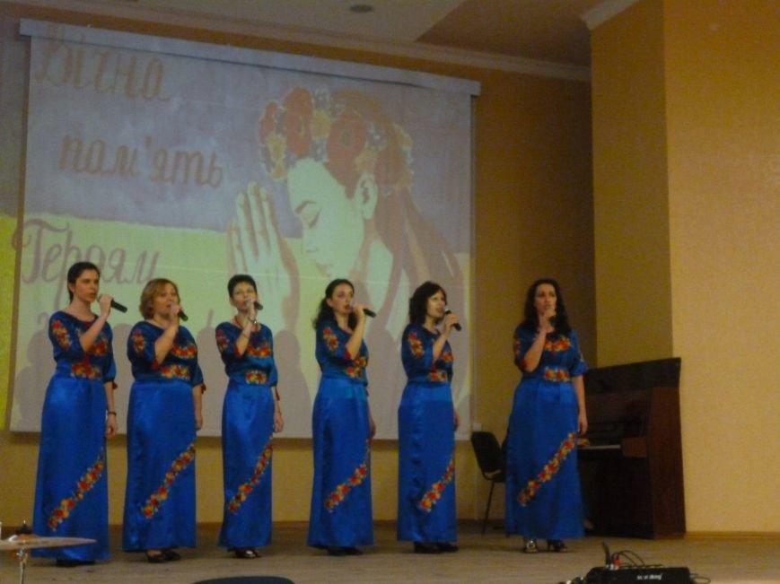 В Красноармейском педагогическом училище  почтили память Героев Небесной Сотни (фото) - фото 4