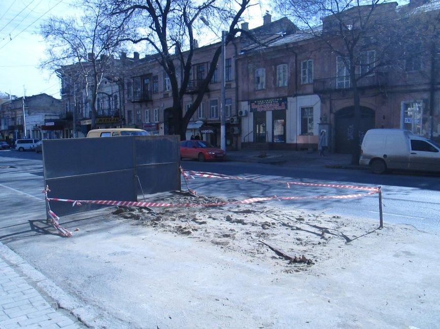 46dc85dc5811982098525dd3512982b2 Вечная пробка: В центре Одессы дороги пришли в негодность или перерыты коммунальщиками