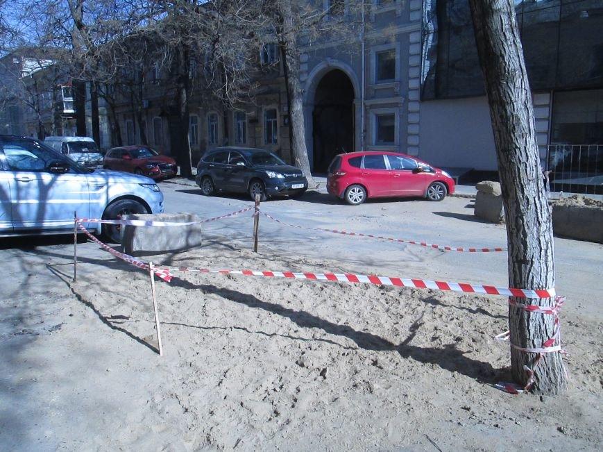 70bb8bbd1d6a2631de6a5d7e474bb3ac Вечная пробка: В центре Одессы дороги пришли в негодность или перерыты коммунальщиками