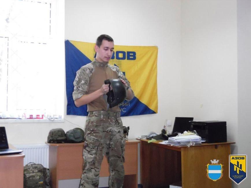 Вишкіл від ЦК «АЗОВ» у Кременчуці: усе, що ви не знали про військові шоломи (ФОТО) (фото) - фото 1