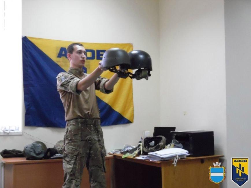 Вишкіл від ЦК «АЗОВ» у Кременчуці: усе, що ви не знали про військові шоломи (ФОТО) (фото) - фото 9