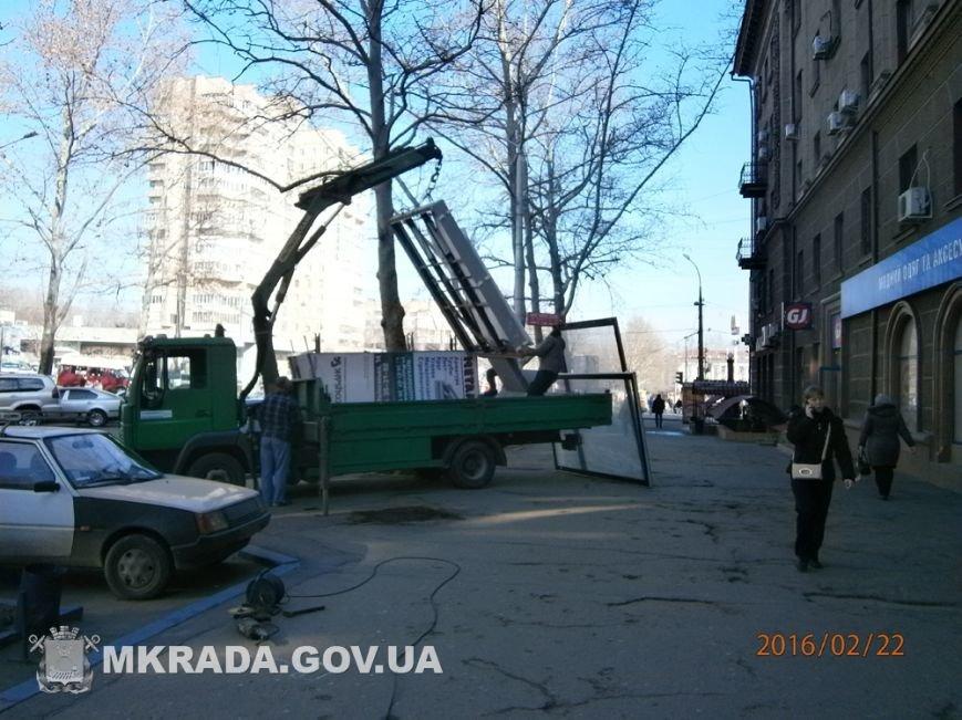 Центр Николаева очистили от незаконной рекламы (ФОТО) (фото) - фото 7