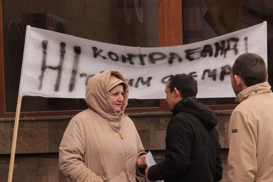 Офіційно про акцію протесту під Закарпатською митницею ДФС (фото) - фото 1