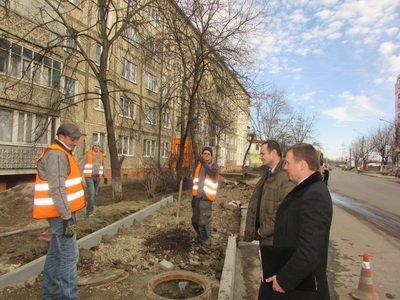 Руслан Марцінків перевірив ремонт тротуарів у місті (ФОТО), фото-1