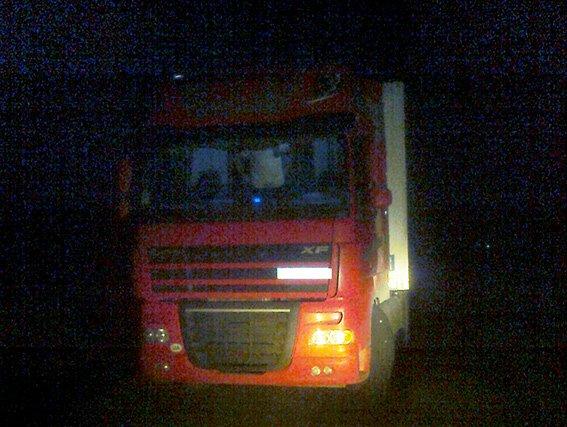 Павлоградские правоохранители задержали грузовик с 20 тоннами контрабандных продуктов (фото) - фото 1
