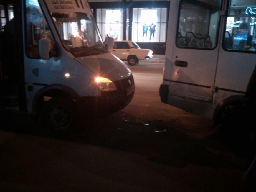 ДТП в Кировограде: ударились две маршрутки (ФОТО), фото-1