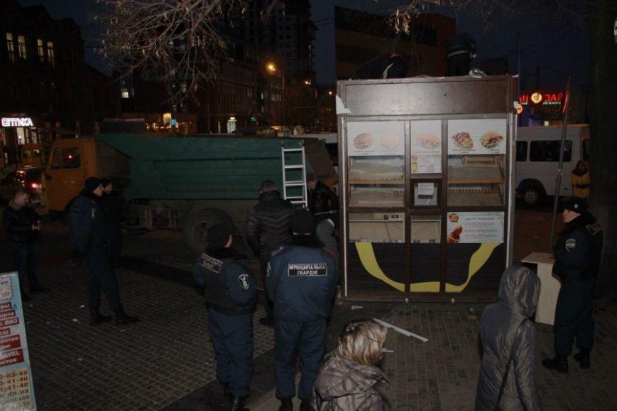 Как на улице Глинки сносили МАФ (ФОТО), фото-3