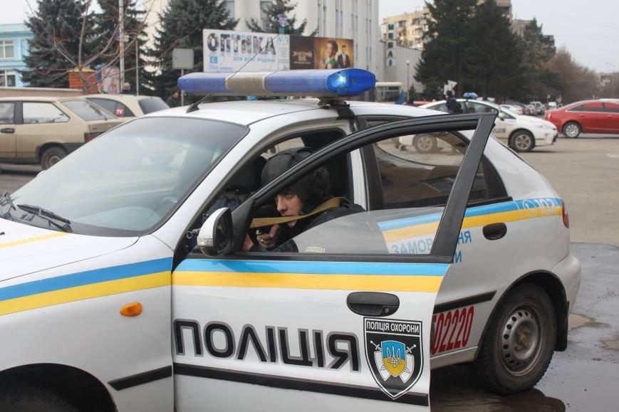Як ужгородські поліцейські затримували грабіжника банку? (ФОТО), фото-5
